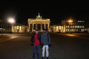 Conor and Ashton who I traveled with to the Brandenburg Gate